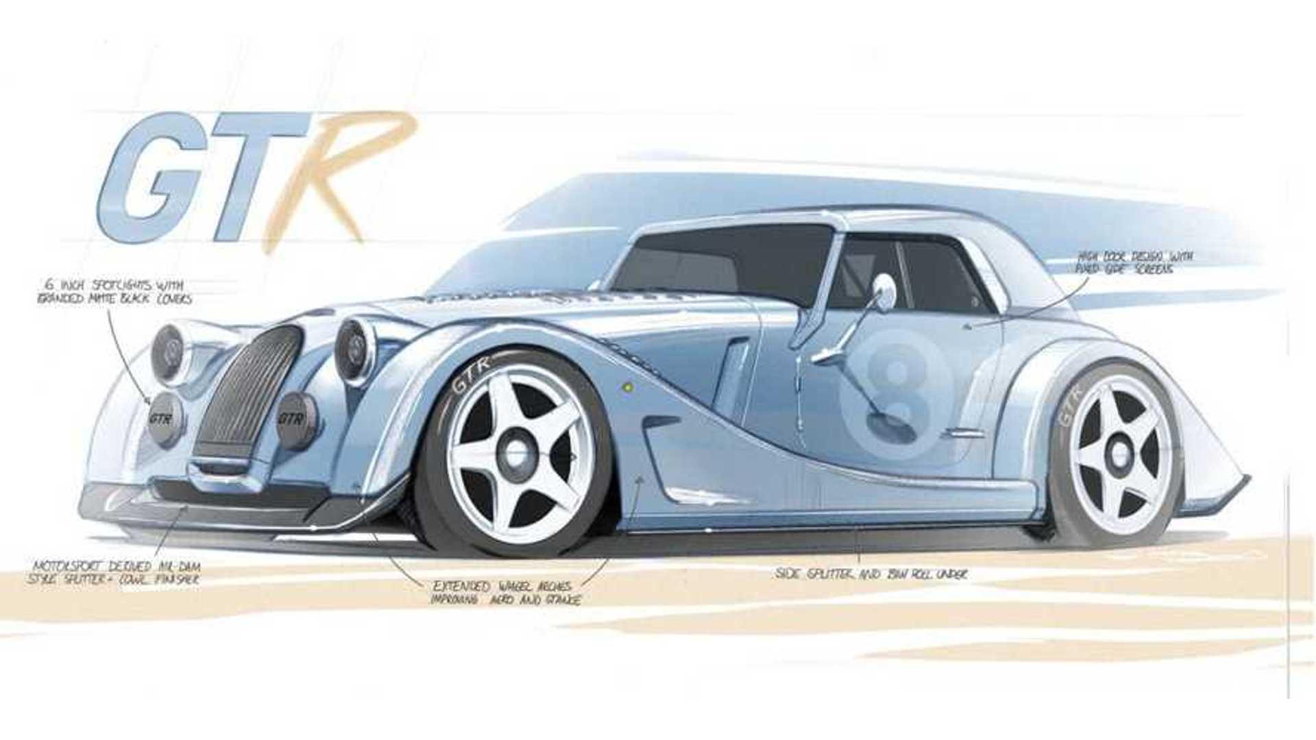 Morgan Plus 8 GTR назван возрождением модели V8, вдохновленной гонками