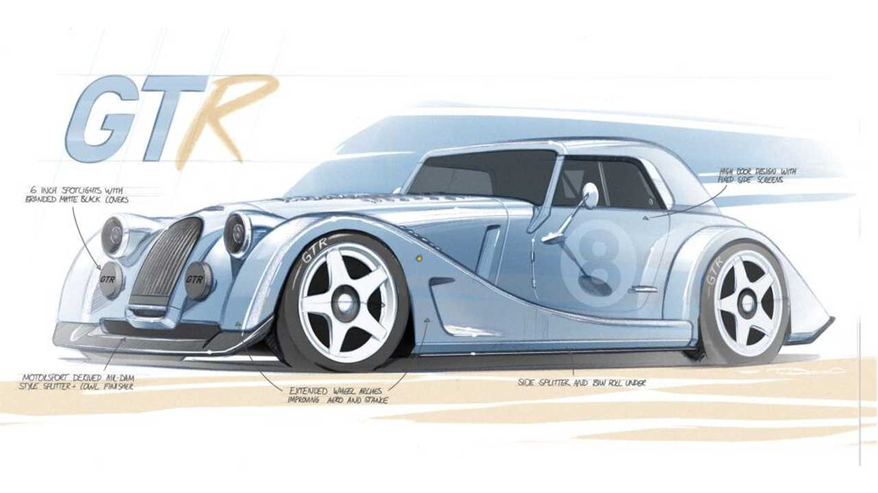 Morgan Plus 8 GTR Race Car Front