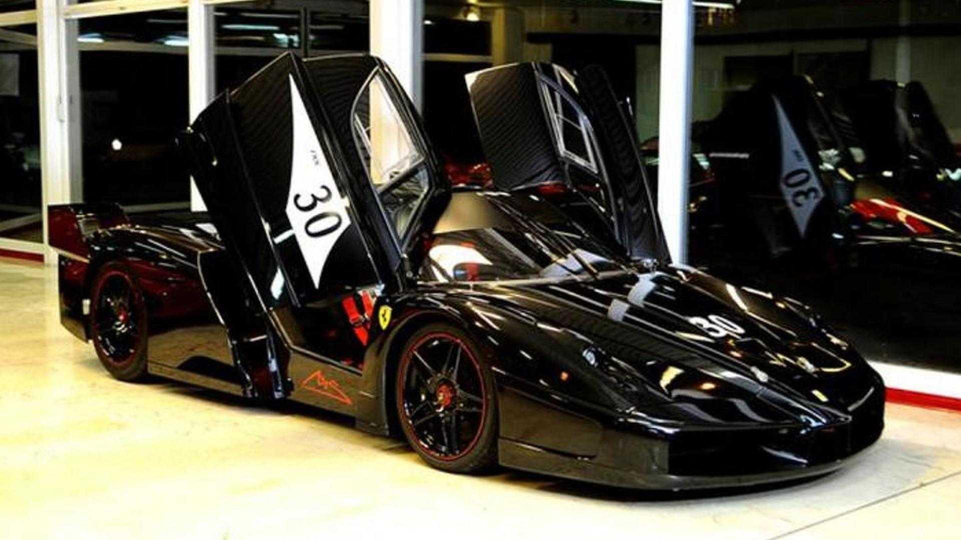 Michael Schumacher\u0027s garage sale Ferrari Enzo and FXX