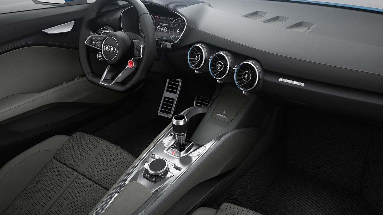 Audi crossover coupe concept