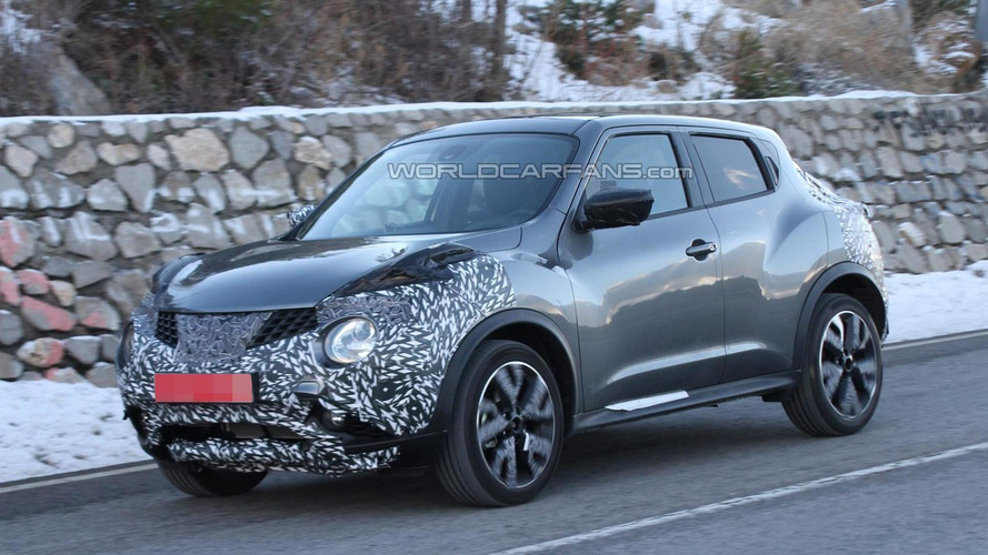 Facelifted Nissan Juke returns in new spy pics