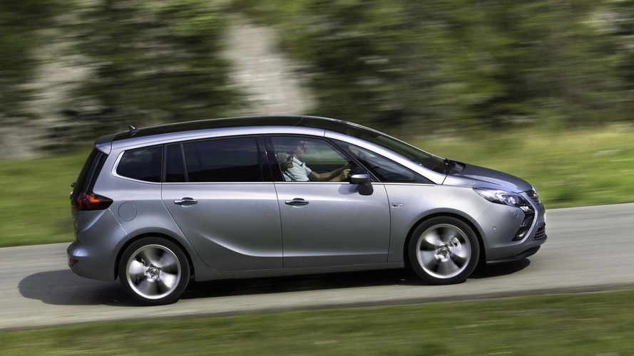 Opel Zafira Tourer 1.6 SIDI Turbo announced with 200 HP