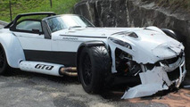Donkervoort D8 GTO crashed in Switzerland
