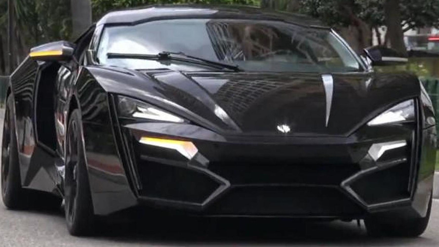 W Motors Lykan Hypersport filmed arriving at Top Marques Monaco [video]