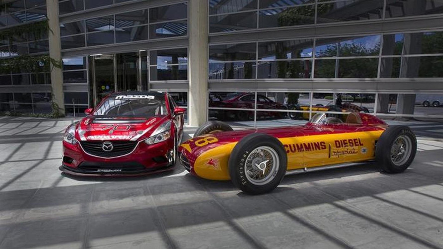 Mazda6 SKYACTIV-D brings diesel racing back to the Indianapolis Motor Speedway