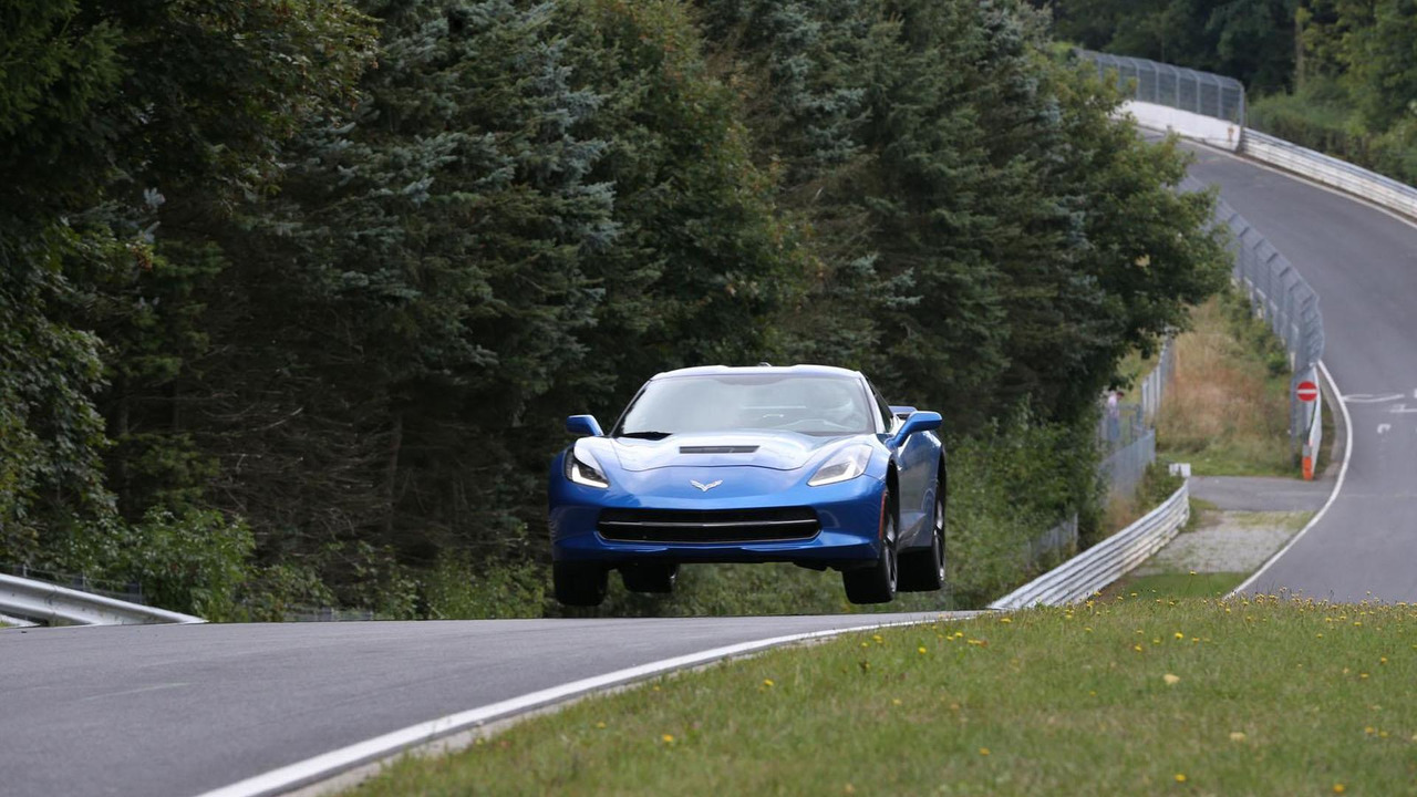 2014 Corvette Stingray on the Nürburgring 13.9.2013