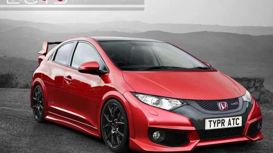 2015 Honda Civic Type R rendered