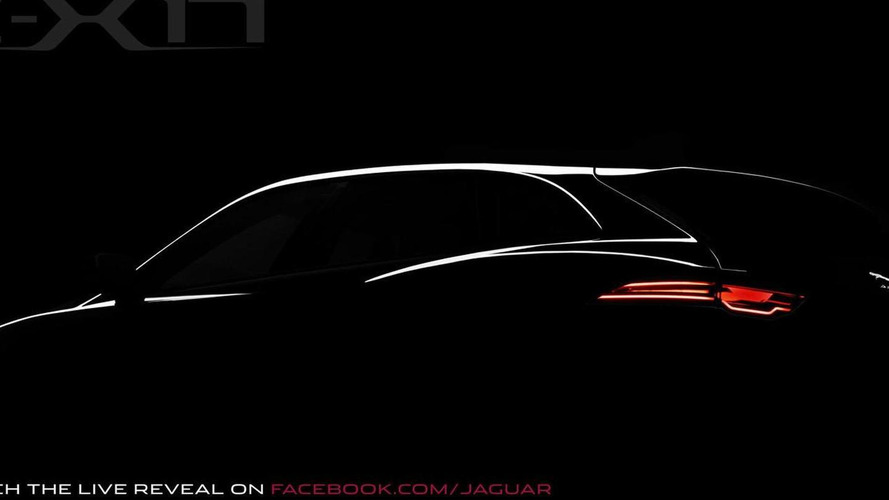 Jaguar C-X17 concept teased for Frankfurt