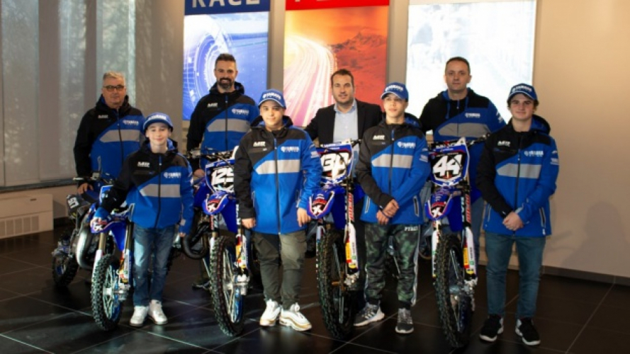Yamaha MX Junior Team: i giovani talenti del motocross italiano