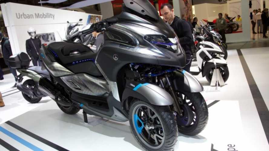 Yamaha 3CT, il triruota del futuro