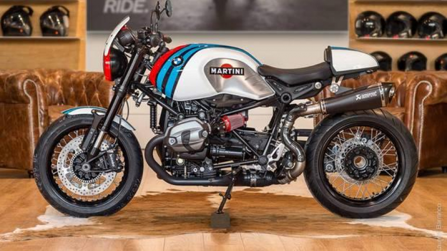 BMW R nineT Martini by Moto Ride