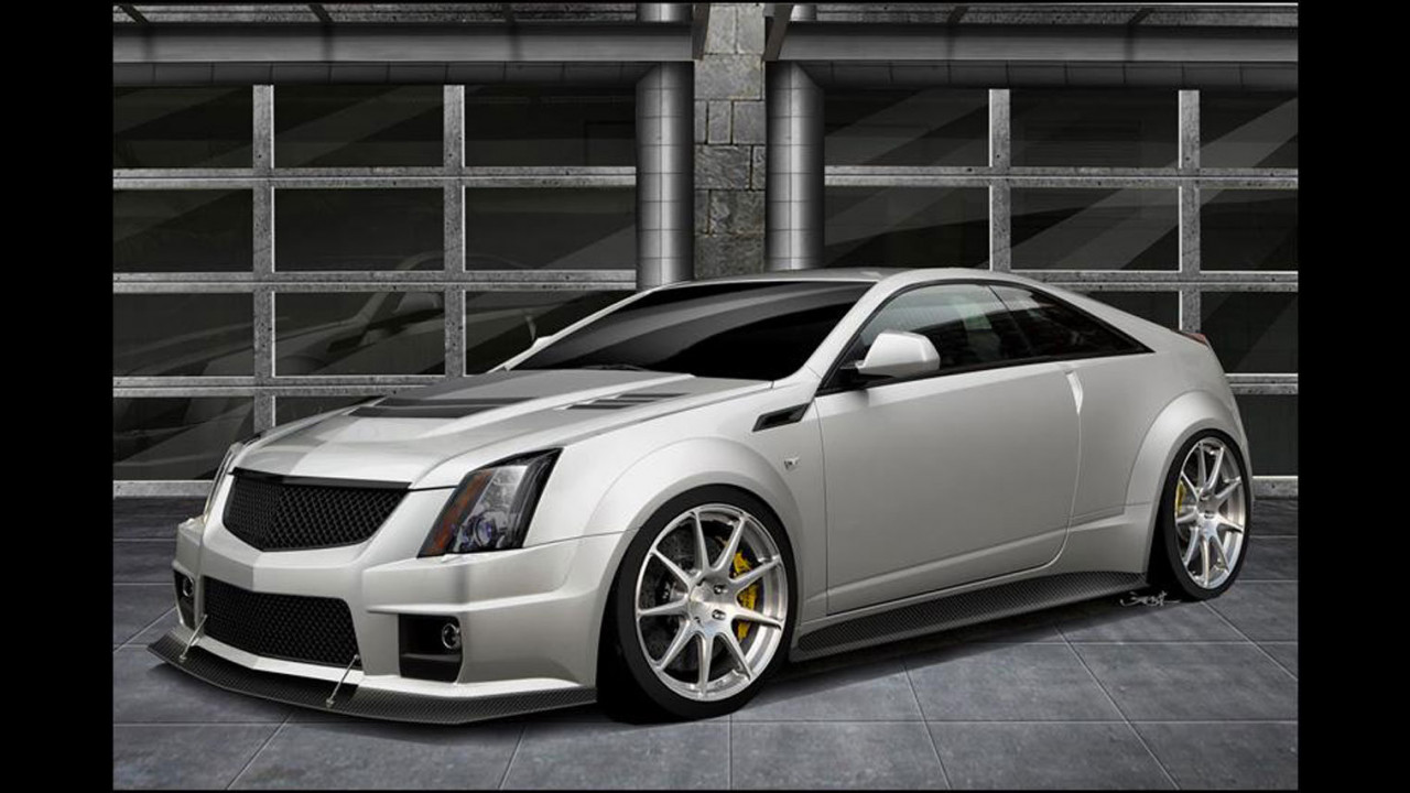 Cadillac CTS-V Coupe V 1000 by Hennessey