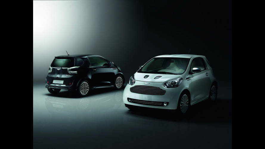Aston Martin Cygnet Launch Edition: White & Black