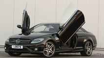 Mercedes CL class with LSD wing doors