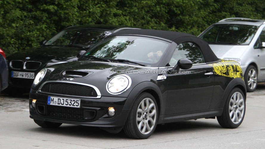 2012 MINI Roadster spied again in Munich