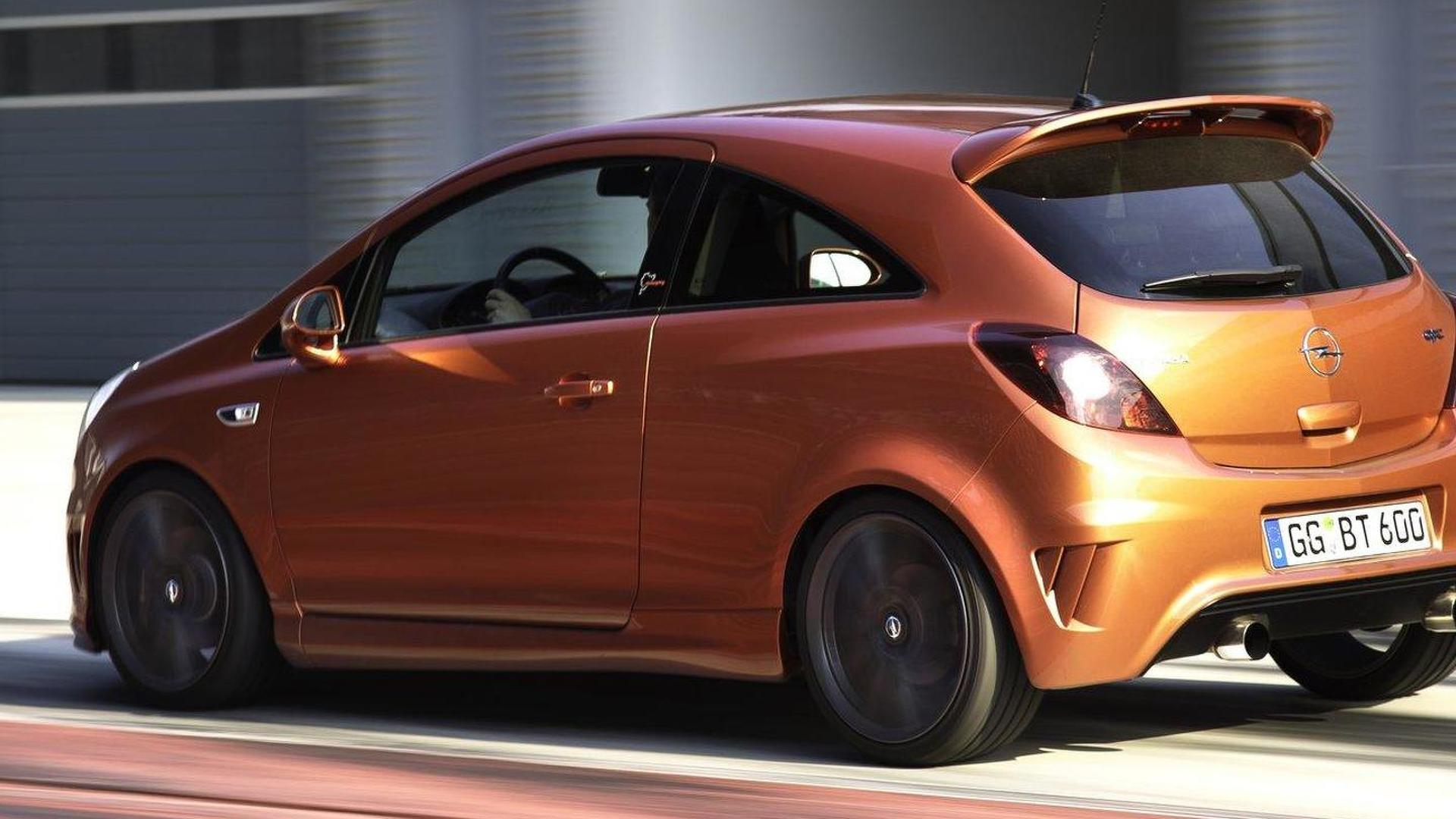 2012 Opel Corsa OPC Nürburgring Edition on the track video