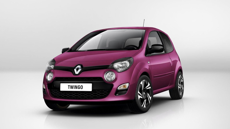 2012 Renault Twingo facelift revealed