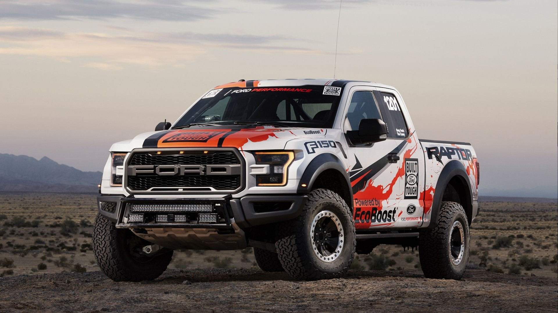 2017 Ford F 150 Raptor For Baja 1000 Is Basically Stock Off Road Safety Harness