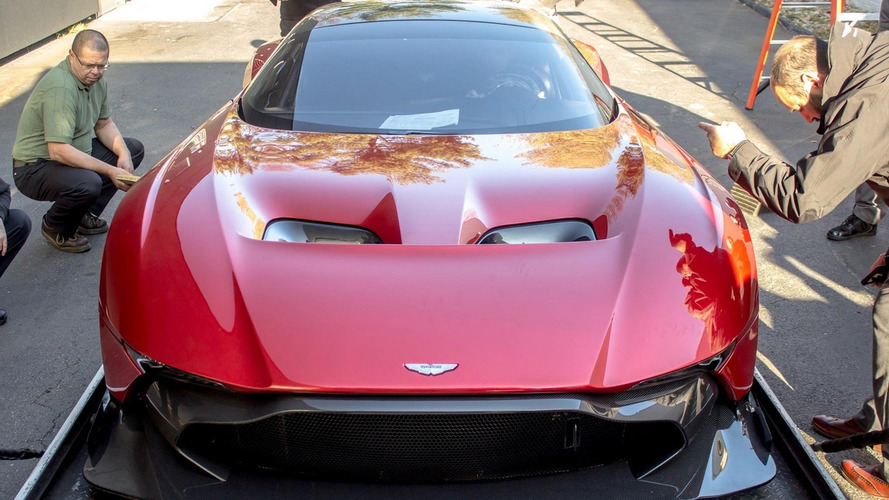 Stunning pics with first Aston Martin Vulcan in United States will make your day