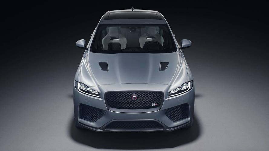 Jaguar unveils new F-Pace SVR hot SUV