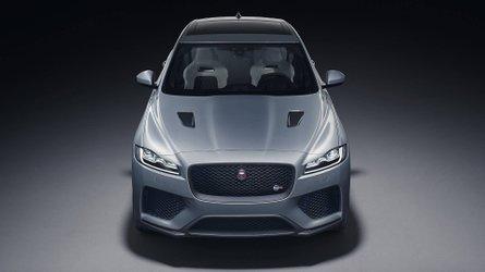 Jaguar unveils new F-Pace SVR hot SUV