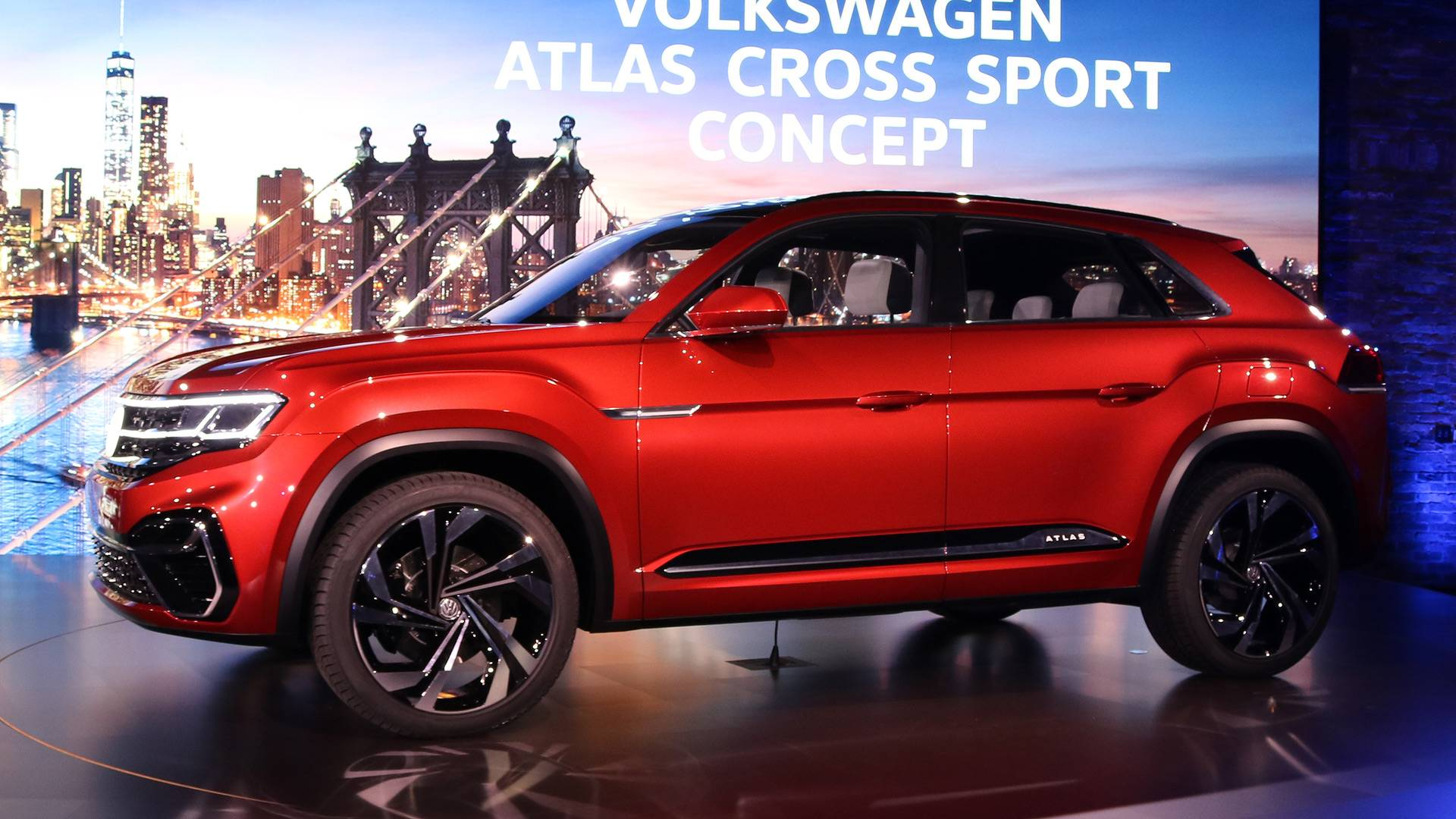 Volkswagen Atlas Cross Sport Concept Previews New Five Seat Suv