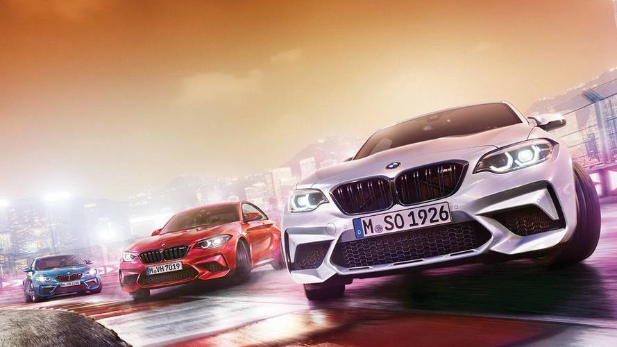 BMW M2 Competition sızdırılan fotoğraf
