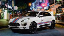 Porsche Macan Martini Racing Livery