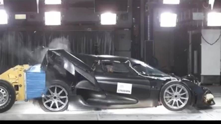 Koenigsegg Regera Crash Test Video Is Predictably Spectacular