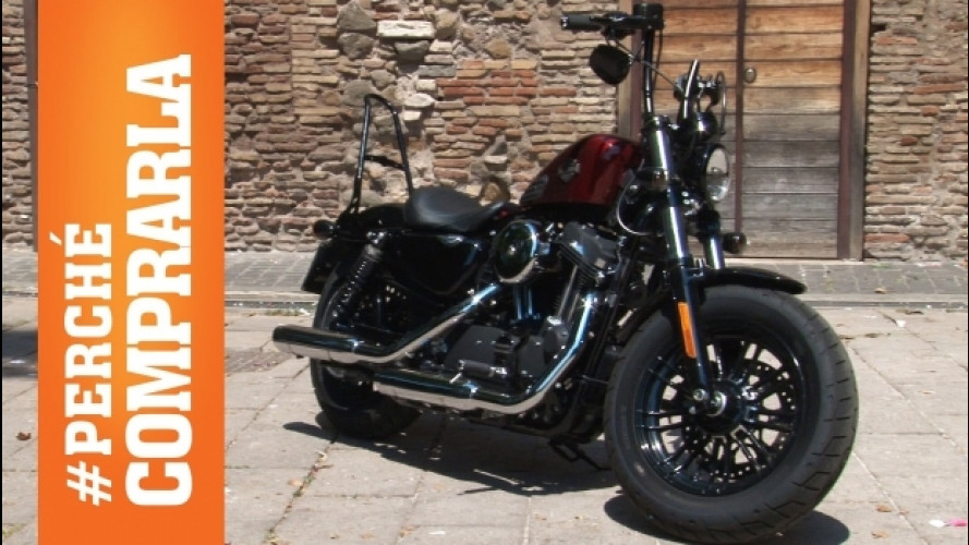 Harley-Davidson Forty-Eight 2016, la prova di OmniMoto.it