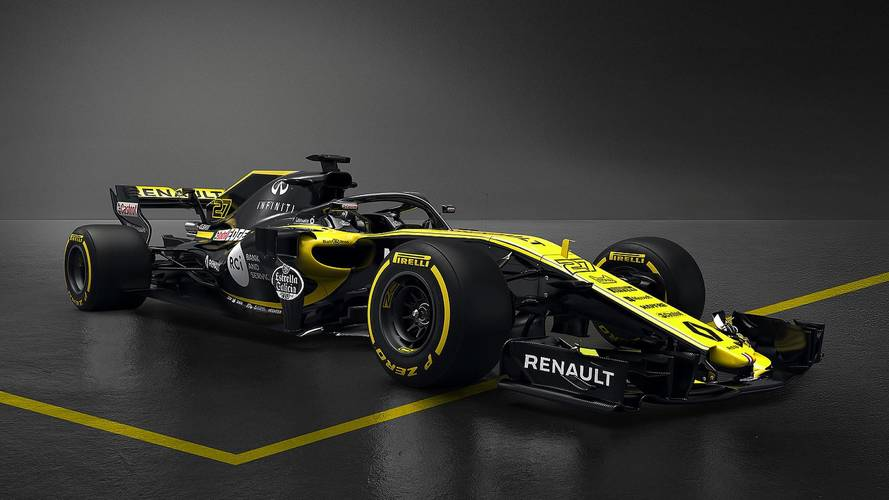 Renault Admits Launch Pictures Were Not Real 2018 F1 Car