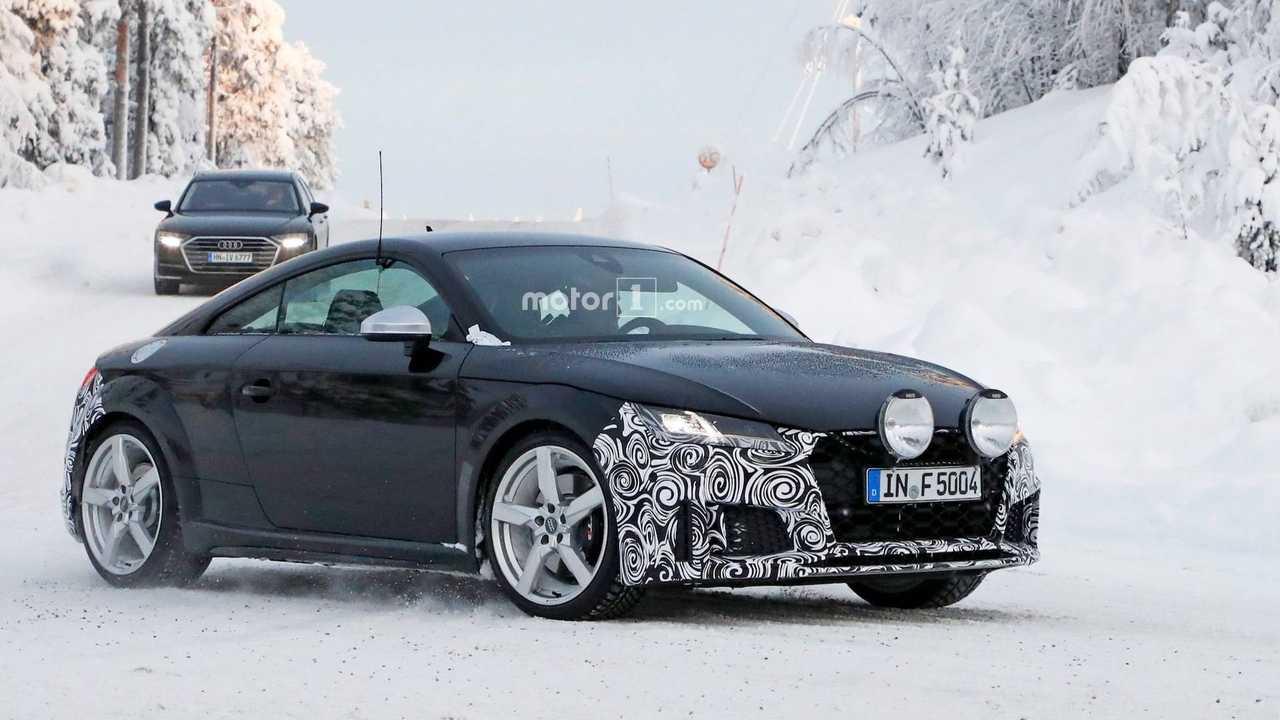 Audi TTS Refreshed Spy Photos