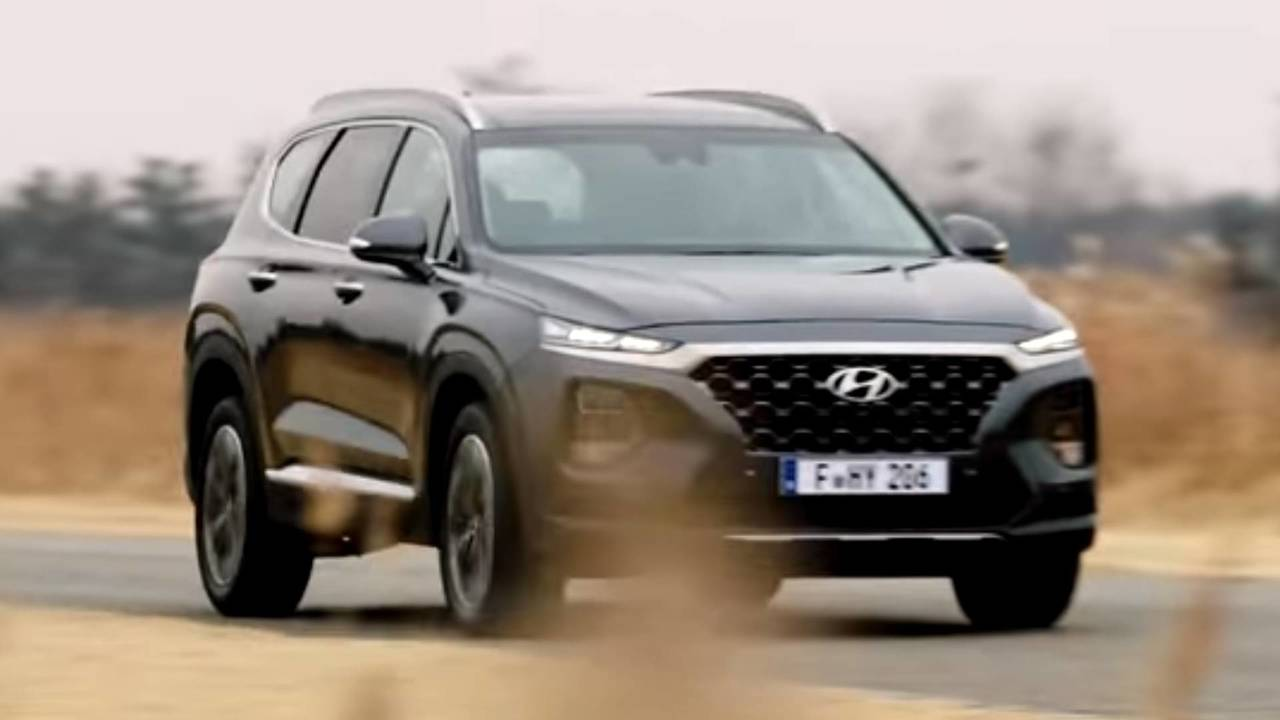 2019 Hyundai Santa Fe Teased Ahead Of February Reveal Update
