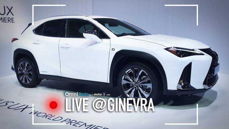 """Lexus UX, SUV """"compatto"""" premium in salsa giapponese al Salone di Ginevra"""