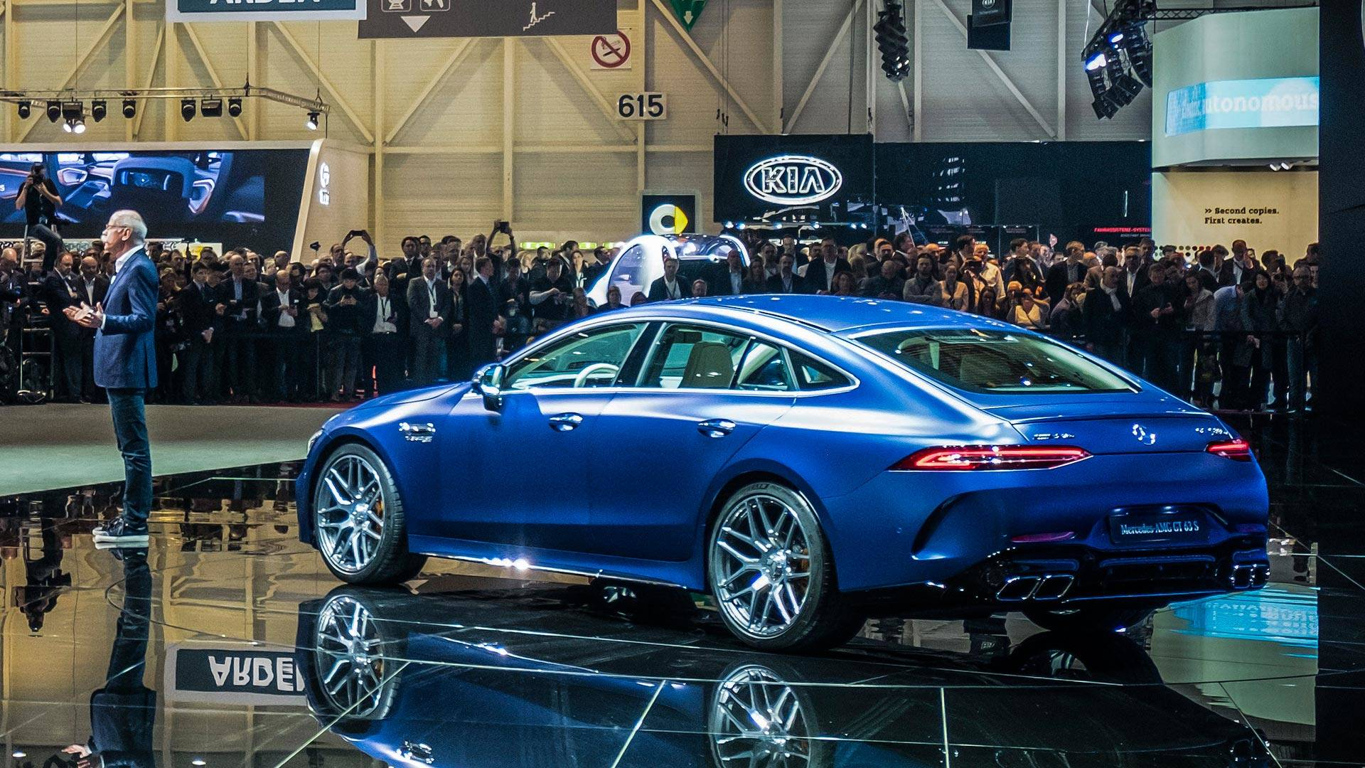 2019 Mercedes Amg Gt 4 Door Coupe Storms Geneva With 630 Hp Circuits Build This Versatile Electronic Combination Lock Part One