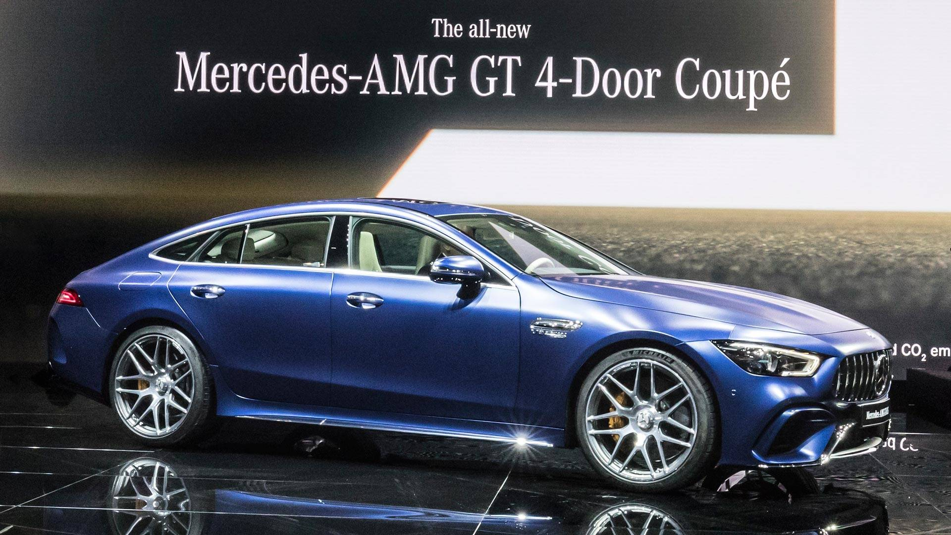2019 Mercedes Amg Gt 4 Door Coupe Storms Geneva With 630 Hp Home Switches Way