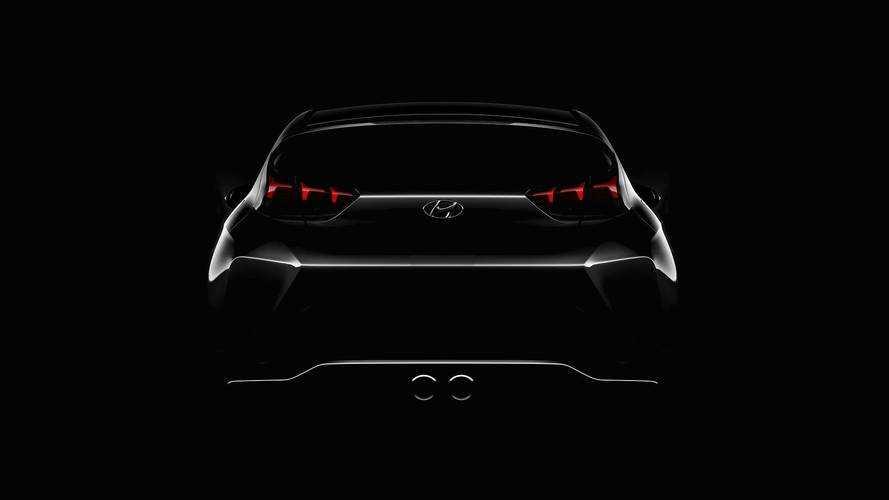 Second-Gen Hyundai Veloster Teaser