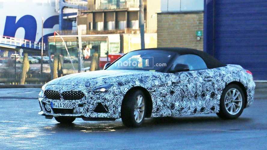 BMW Z4 Toyota Supra Spy Shots