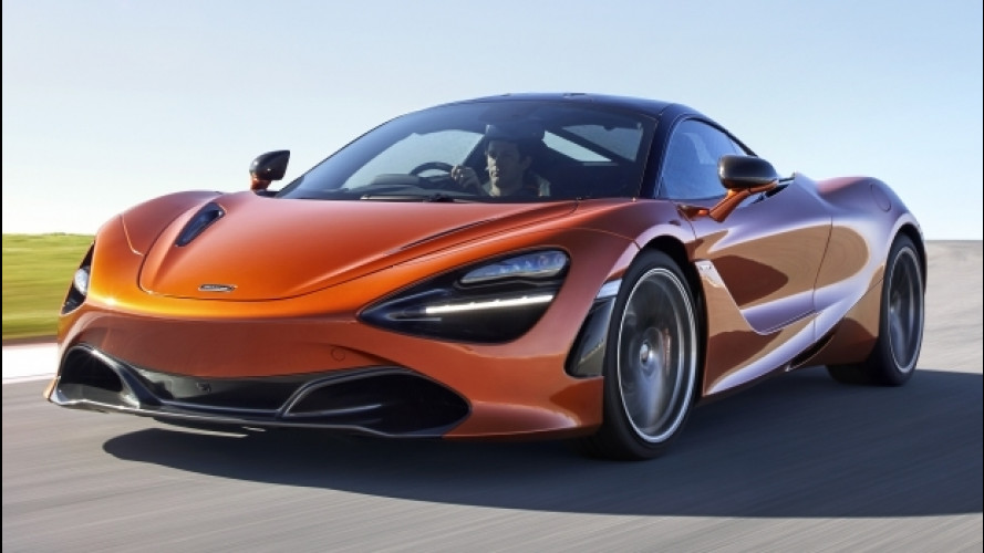 McLaren 720S, numeri da brivido per la nuova Super Series