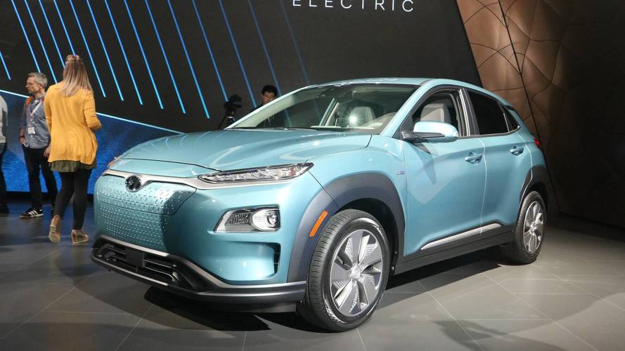 2019 Hyundai Kona Electric Has 250 Miles Of Range