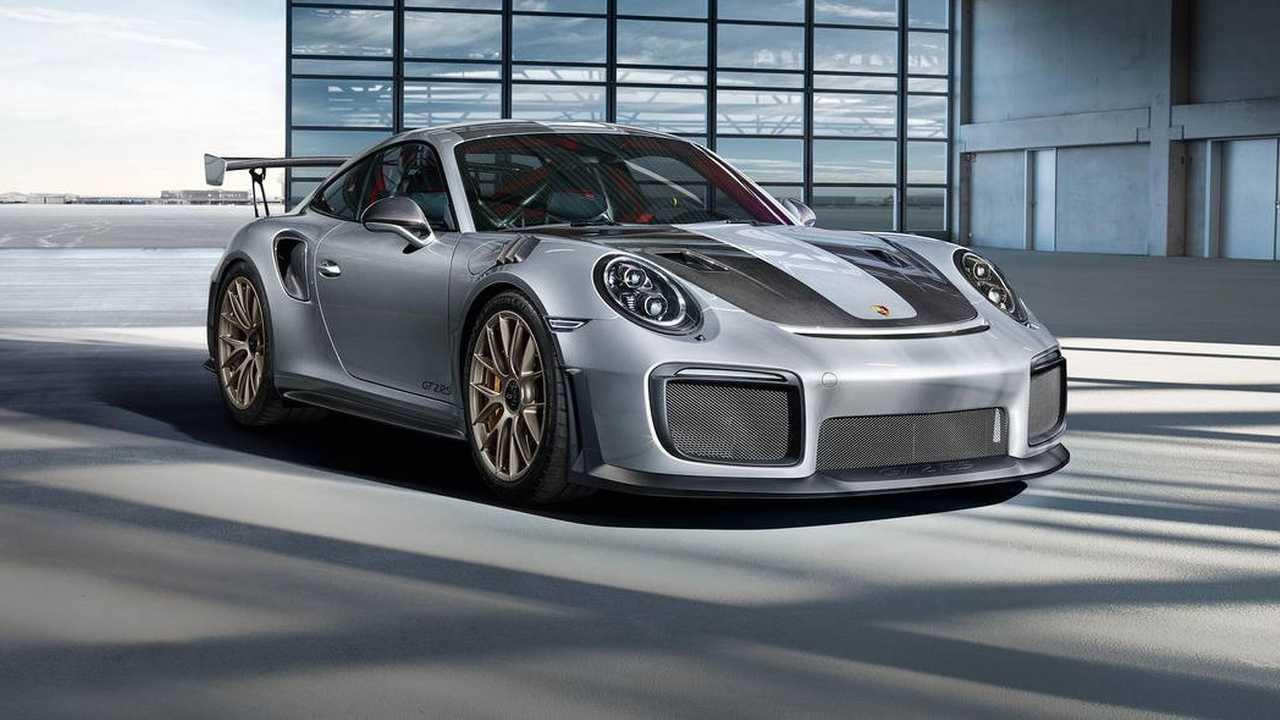 Pack Weissach sur la Porsche 911 GT2 RS