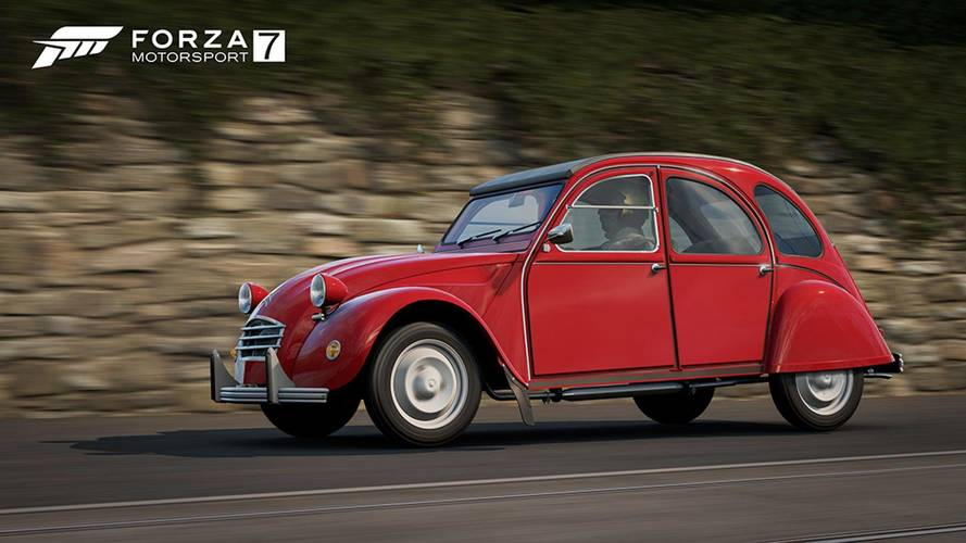 La Citroën 2CV disponible dans Forza Motorsport 7 !