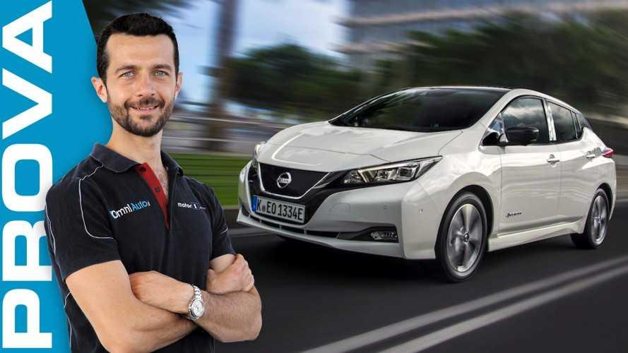 Nissan Leaf, si inizia a fare sul serio