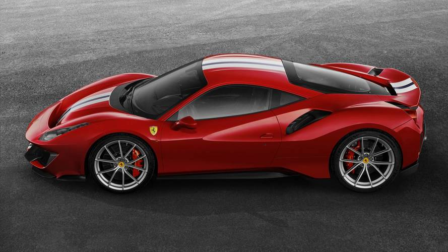 Ferrari 488 Pista: en vivo y en directo