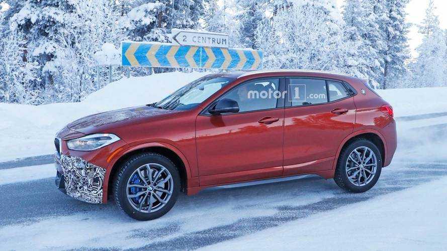 BMW X2 M35i 2018, casi al descubierto