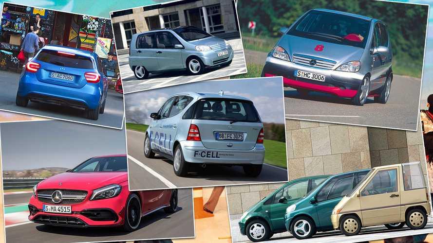 Mercedes-Historie: Die Geschichte der A-Klasse