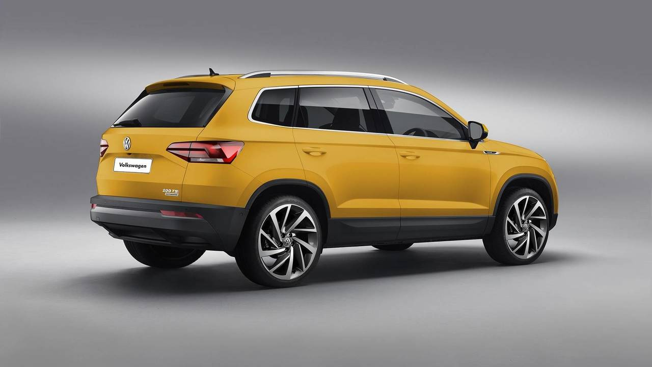 VW Global SUV Render'ı