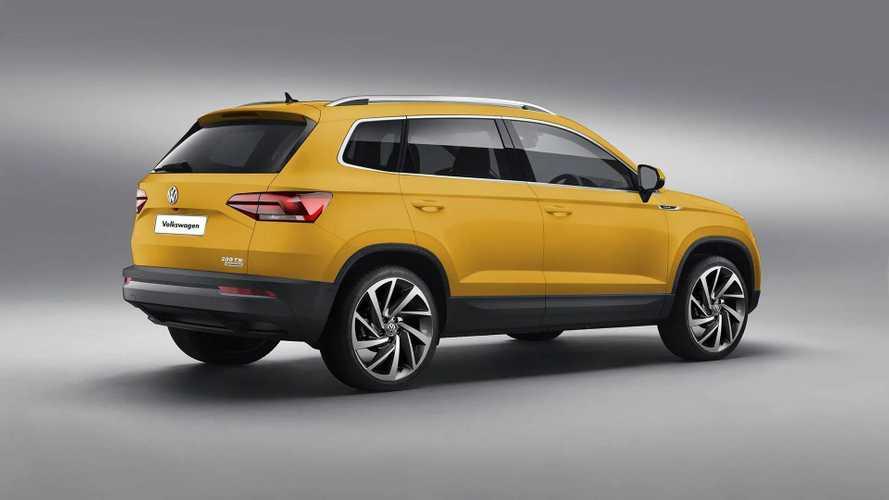 VW global SUV render