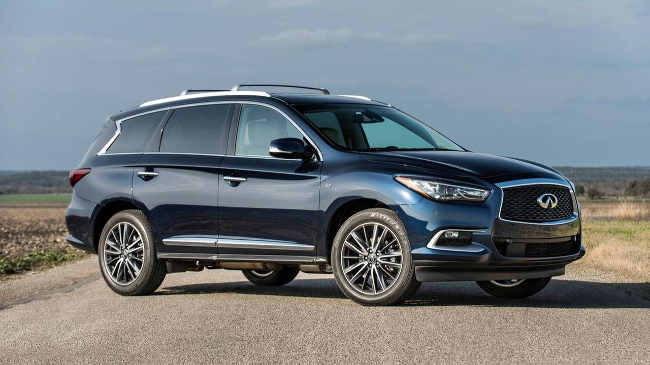 7. Luxury Large SUV/Crossover: Infiniti QX60.