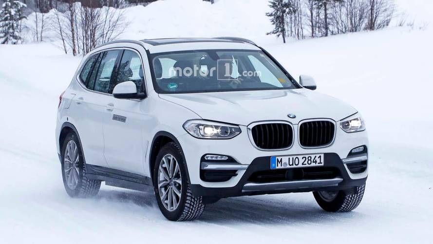 BMW iX3 Spy Photos